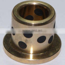 Customized oilless solid lubricant brass bush