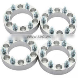 """1"""" 6x5.5 to 6x5.5 (6x139.7 to 6x139.37) Wheel Spacers 12x1.5 studs for Dodge Hummer Toyota"""