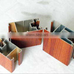 Newly designed 6000 series aluminum alloy beam profiles for door and wiondow,curtain wall, glass house