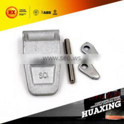 cabinet hinge for containers