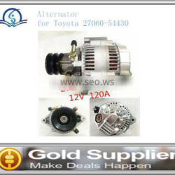 Brand New Alternator for Toyota 27060-54430 with high quality and most competitive price.