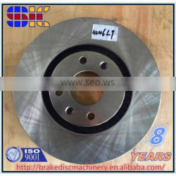 French auto parts Brake System Manufacturers disc rotor parts for wholesale for Peugeo 406