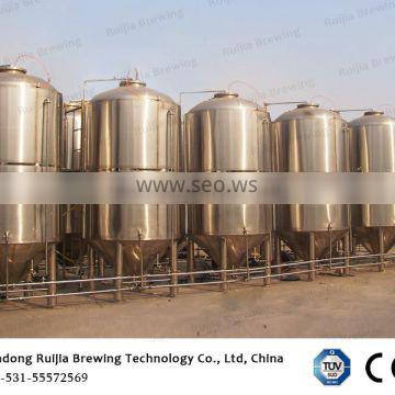 4000L three tank beer brewery equipment and 8000L ice water tank