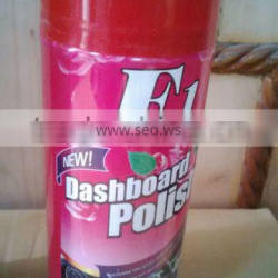 F1 efficient aerosol car dashboard wax spray with cheap price