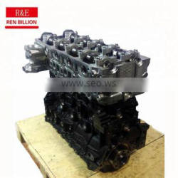 Supply diesel engine 4jj1 long block for sale