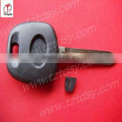 TD labeling key blank (outside tooth) for Toyota