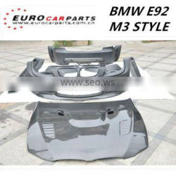 new arrival body kit for 3SERIES E92 M3 style 06~10