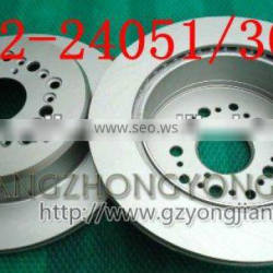 Car body parts OE NO.43512-24051/ 43512-30180 Brake Disc / Brake Pad/Brake Rotor