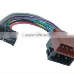 ISO car radio adapter cable connector