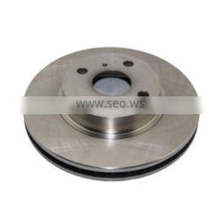Brake Disc Front Axle Rotor 43512-12610 For Corolla ZZE121 2001-2007