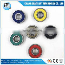 Colorful seals 608 steel ball bearing for spinner toy