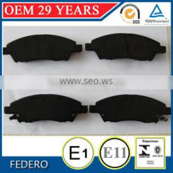 D1592 China car brake pads factory