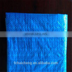80gsm double blue light duty PE tarp for any coverage purpose and ground sheet with UV-protection
