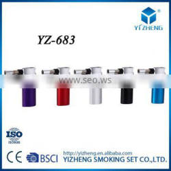YZ-683 Hot Sale Professional Produce Manufacture Metal Unique Design Smooth Cover Smoking Lighter