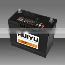 N40L 12V40AH Auto battery /car battery/ high quality korean battery /jis standard automobile battery