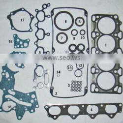 4G64 16V car spare part overhaul gasket kit with cylinder head gasket MD978906 50239300