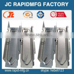 custom made aluminum bending parts stamping die / steel stamping mold by hot stamping machine