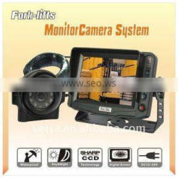 Fork-lifts security Camera System with Waterproof IR Color CCD Camera