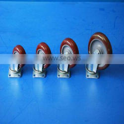 customized different sizes pa66 trolley wheel for sale