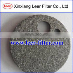 Burner Screen Sintered Fiber Felt Filter Disc