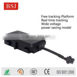 Basic mini Tracking Device Free Software motorcycle GPS tracker cheap price GPS tracker with wide working voltage BSJ-K9