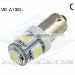 part White/Blue/Green/Red/Yellow car ba9s 5050 5smd led