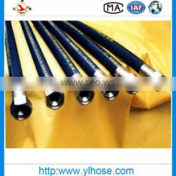 En856 4SP industrial hose/hydraulic rubber hose with fittings