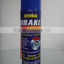 ISO9001 Aerosol aerosol brake cleaner spray car wash