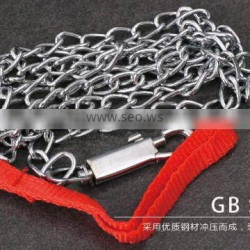Durable spring hook chain lock for using widely