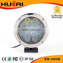 NEW flood 60W led work light for all car, 12v led spot light for motors, 60w led driving light
