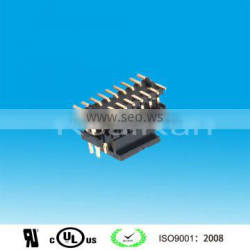 1.27mm Pitch Double Row SMT Pin Header connector