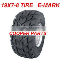 19X7-8 ATV Tires,E4 Approval