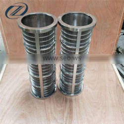 stainless steel dewater press screen liquid filter