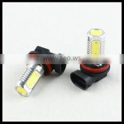 h11 fog lamp driving lights bulb cob h11 car led drl daylight running light white 6w h11 led fog light