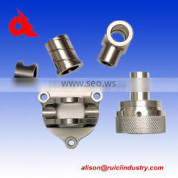OEM dalian stainless steel low volume cnc machined parts