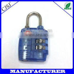 Factory Direct Hot Sale New Design Plastic TSA Lock For Custome Safe
