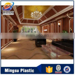 Waterproof environmental decorative pvc panel for wall top selling products