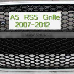 ABS auto front grille tuning style for Audi A5 RS5
