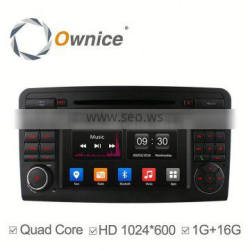Ownice Android 4.4 touch screen Stereo Auto GPS navi for Mercedes-benz ML500 W164 with wifi bluetooth phonebook IPOD