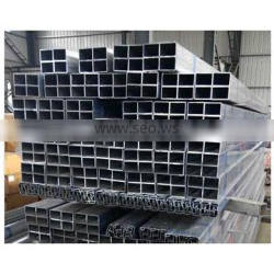 china aluminum square tube profile manufacturer with high quality and compatetive price