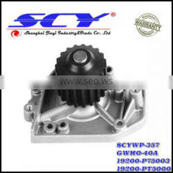 Auto Water Pump For HONDA 19200-P75003 19200-PT5000 19200-PT5003 GMB:GWHO-40A GMB:135-1400 AIRTEX:AW9349