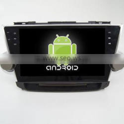 Quad core! Android 4.4/5.1 car dvd for HIGHLANDER 2012 with 10.1inch Capacitive Screen/ GPS/Mirror Link/DVR/TPMS/OBD2/WIFI/4G