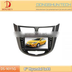 Hyundai ix45 8inch 2 din car dvd player