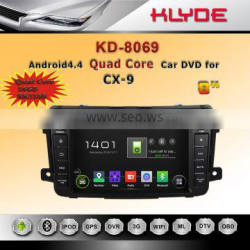 HURRY UP! hot sale Touch Screen quad core RK3188 android 4.4.4 double din car dvd player for CX-9 with Bluetooth & Radio