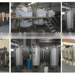 stainless conical micro beer ferment tanks