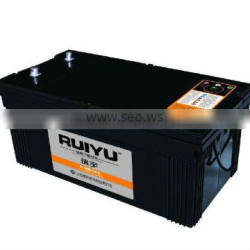 N200 dry truck battery with high quality 12V200AH