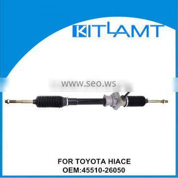 manual steering rack and pinion china for TOYOTA HIACE 45510-26050