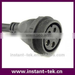 M58 female waterproof connector with 5pin