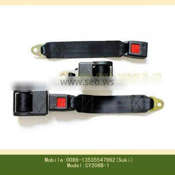 Automatic two-point seat belt
