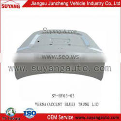 Auto Body Parts Trunk Lid for HYUNDAI VERNA(ACCENT BLUE) aftermarket auto body parts